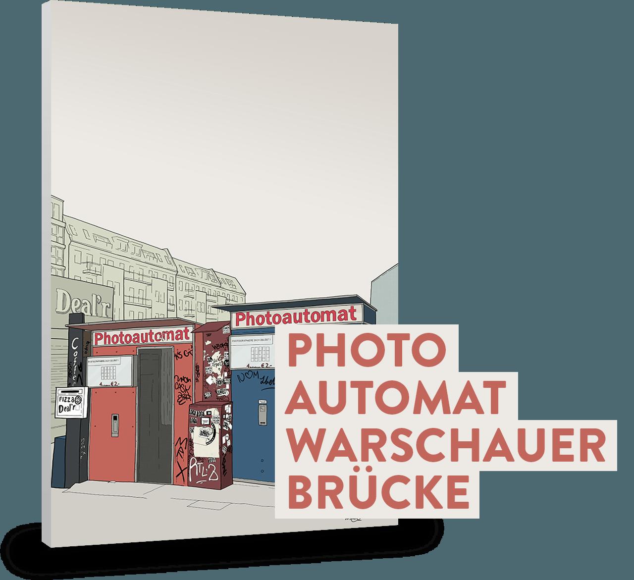 PHOTOAUTOMAT WARSCHAUER BRÜCKE