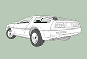 DMC DELOREAN (CARS SERIES N° 1)
