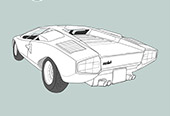 LAMBORGHIMI COUNTACH (CARS SERIES N°3)