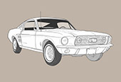 FORD MUSTANG (CARS SERIES N°4)