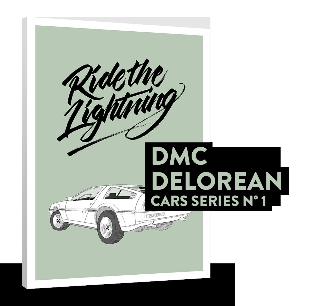 DMC DELOREAN (CARS SERIES N° 1)