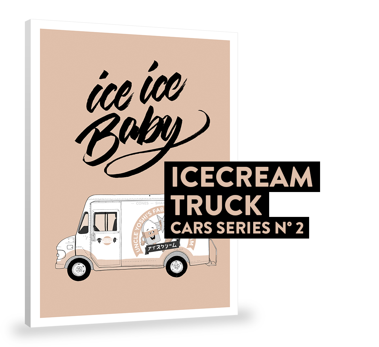 ICECREAM TRUCK (CARS SERIES N°2)