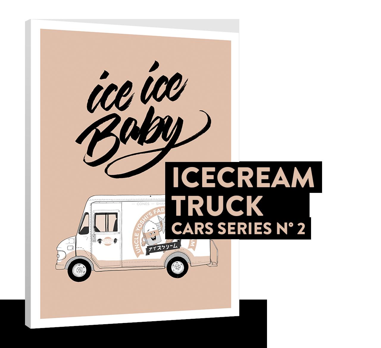 ICECREAM TRUCK (CARS SERIES N°2)