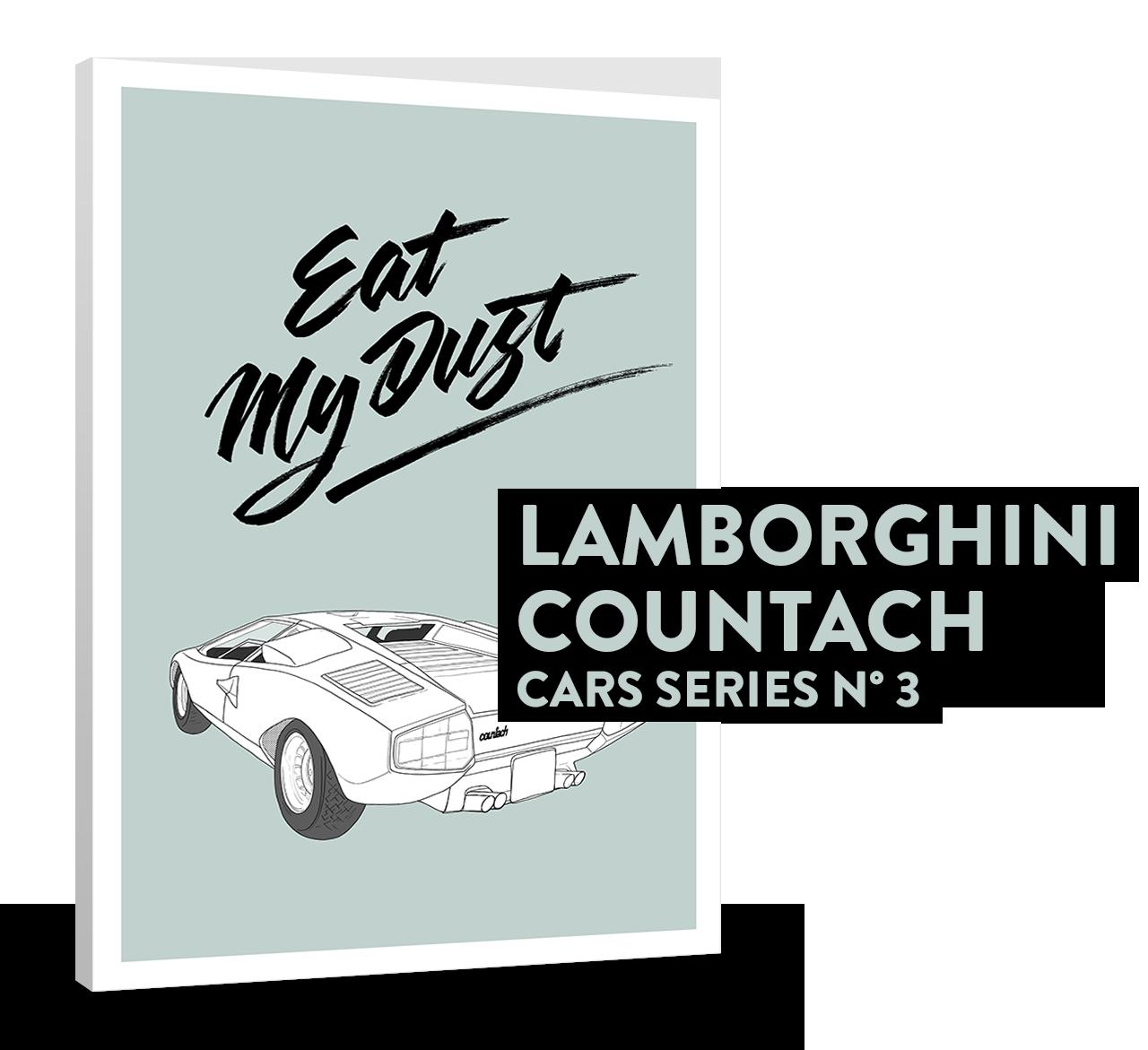 LAMBORGHIMI COUNTACH (CARS SERIES N°3)